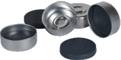 Aluminium Snap off (flip Top) Seals